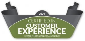 Master Photographers Association certified customer experience