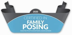 Master Photographers Association certified family posing